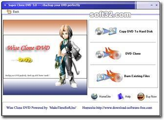 Wise DVD Copy Screenshot 3