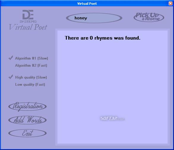 Virtual Poet Screenshot 2