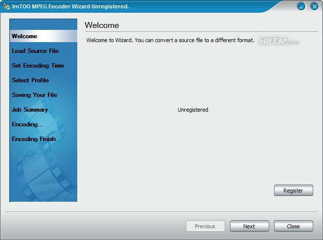 ImTOO MPEG Encoder Platinum Screenshot 3