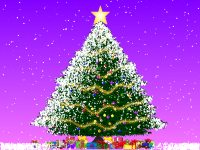 A Christmas Tree Screensaver Screenshot