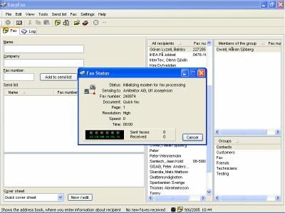 EasyFax Screenshot