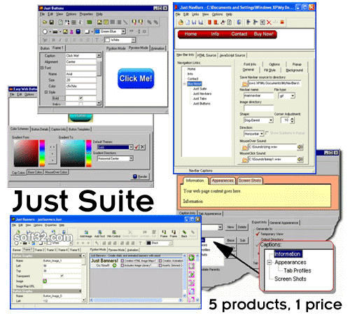 Just Suite Screenshot 2