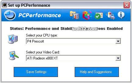 PCPerformance Screenshot