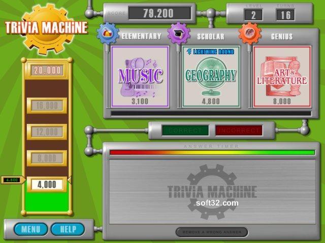 Trivia Machine Screenshot 3