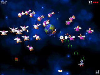 Chicken Invaders Screenshot 1