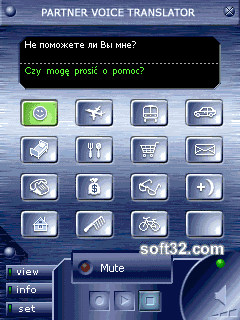 ECTACO Voice Translator Russian -> Polish Screenshot 2