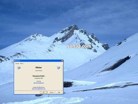 Snow of Winter Screen Saver Screenshot 3