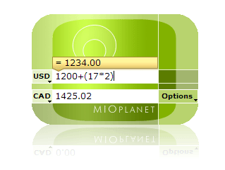 Desktop Currency Converter Screenshot