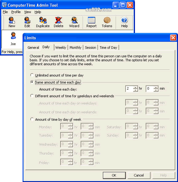 ComputerTime Screenshot 3