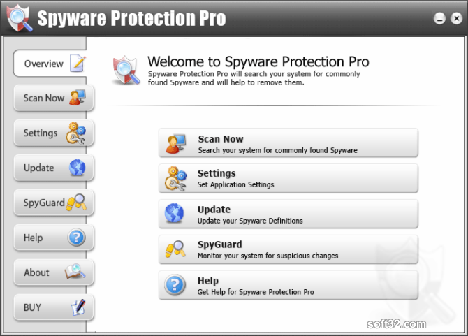 Spyware Protection Pro Screenshot 2