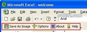 XLS to Jpeg/Jpg/Tiff/Bmps converter Screenshot 2