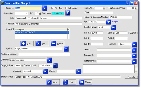 Media Library Manager Screenshot 1