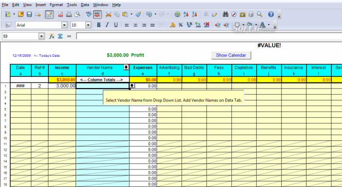 Download Profit Loss Report Spreadsheet 60 – Excel Profit and Loss Worksheet