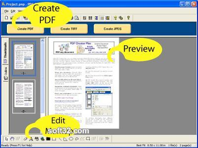 PDF Creator Plus Screenshot 3