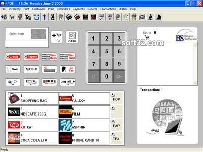 4POS POS RETAIL SOFTWARE Screenshot 3