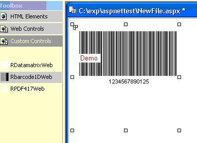 J4L-RBarcode for .NET Screenshot