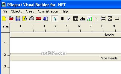 RReport Visual Builder for .NET Screenshot 3
