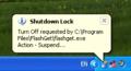 Shutdown Lock 1
