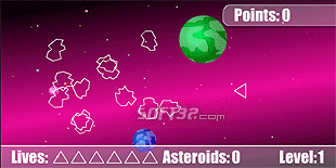 The Asteroids Screenshot