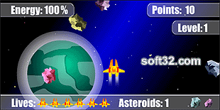 Asteroid Rain Screenshot