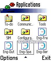 ECTACO Dictionary English <-> Spanish for Nokia Screenshot 3