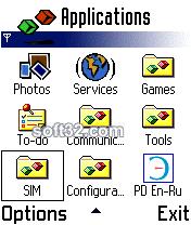 ECTACO Dictionary English <-> Russian for Nokia Screenshot 3