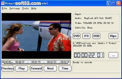 Bingo! DVD Ripper Screenshot 2