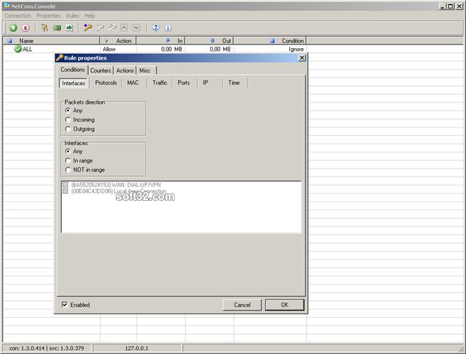 Routix NetCom Screenshot 2
