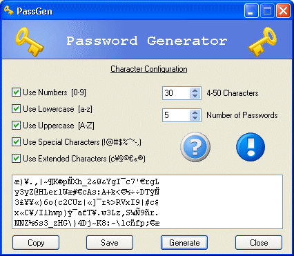 PassGen Screenshot 1