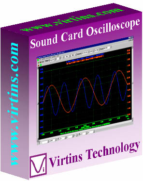 Virtins Sound Card Oscilloscope Screenshot