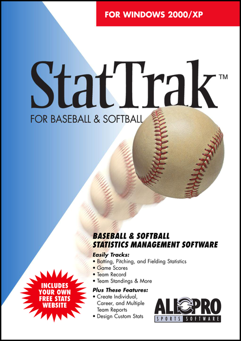 StatTrak for Baseball / Softball Screenshot