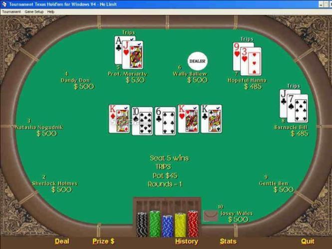 Tournament Texas Holdem Screenshot 3