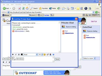 Cute Chat Screenshot 2
