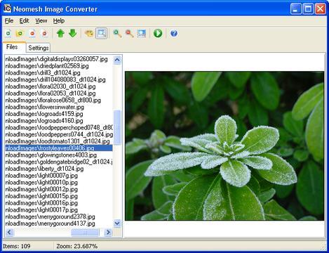Neomesh Image Converter Screenshot