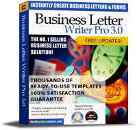 Best Business Letters Screenshot 1
