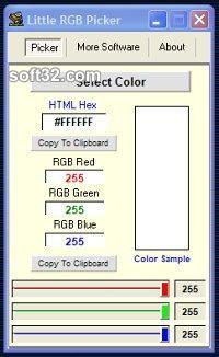 Little RGB Color Picker Screenshot 3