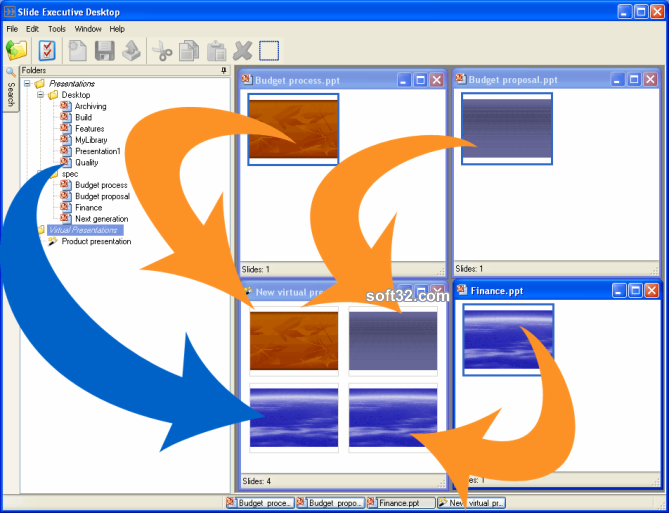Slide Executive Desktop Screenshot 1