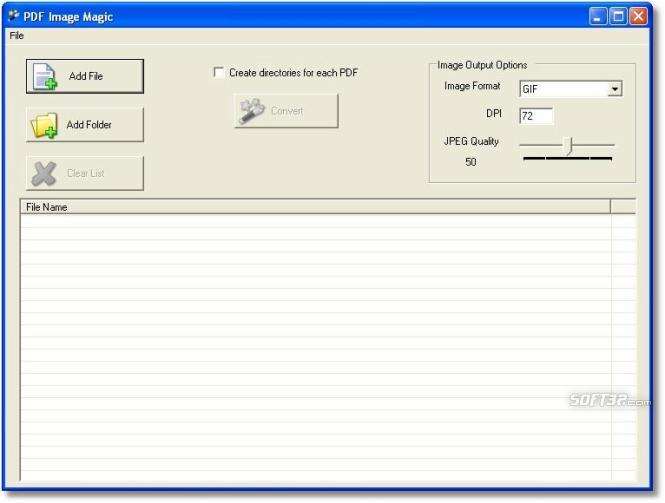 PDF Image Magic Screenshot 2