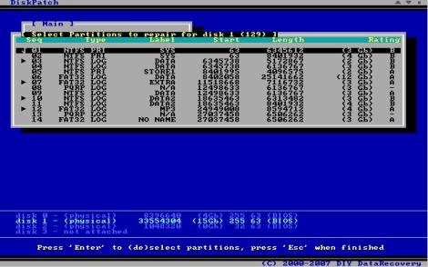 DiskPatch Screenshot 1