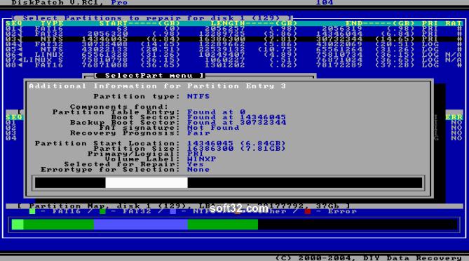 DiskPatch Screenshot 2