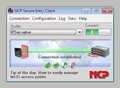 NCP Secure Entry Client for Win32/64 1