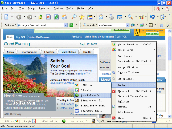 Acoo Browser Screenshot 2
