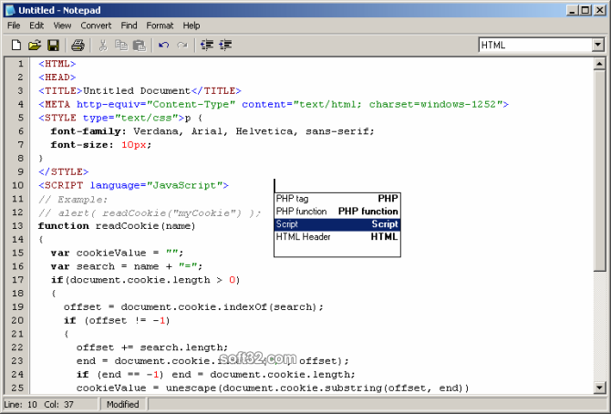 Professional Notepad Screenshot 2