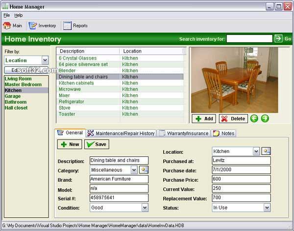 Home Manager 2008 Screenshot 2