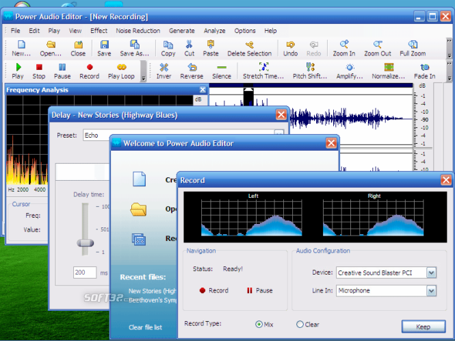 Power Audio Editor Screenshot 2