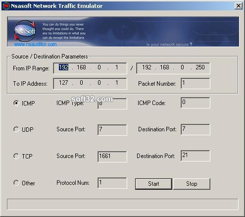TrafficEmulator Screenshot 2