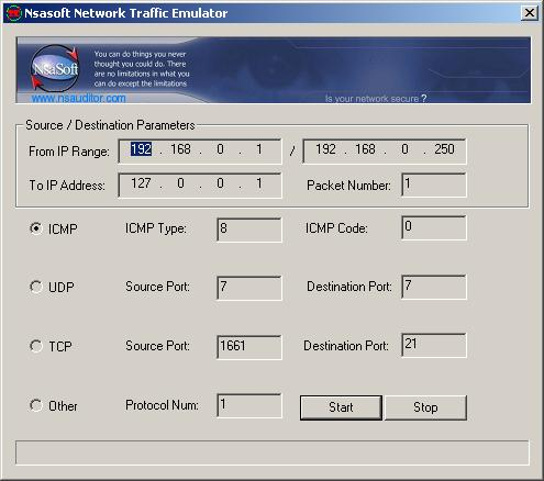 TrafficEmulator Screenshot 1