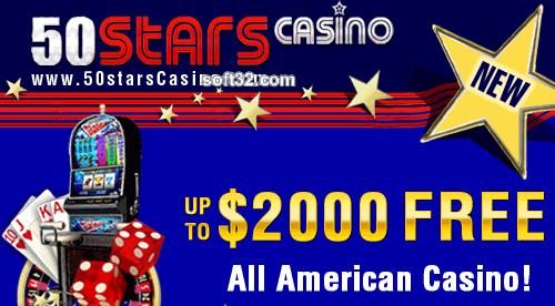 50 Stars Casino Screenshot 2