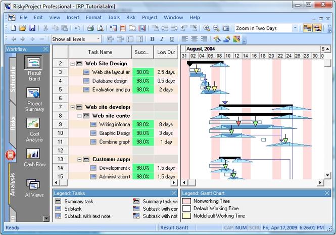 RiskyProject Screenshot 3