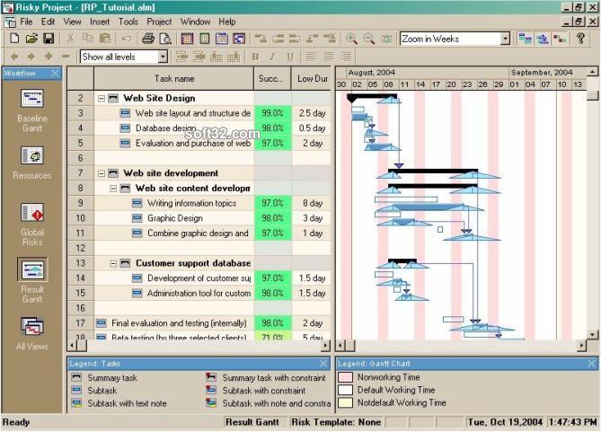 RiskyProject Screenshot 2